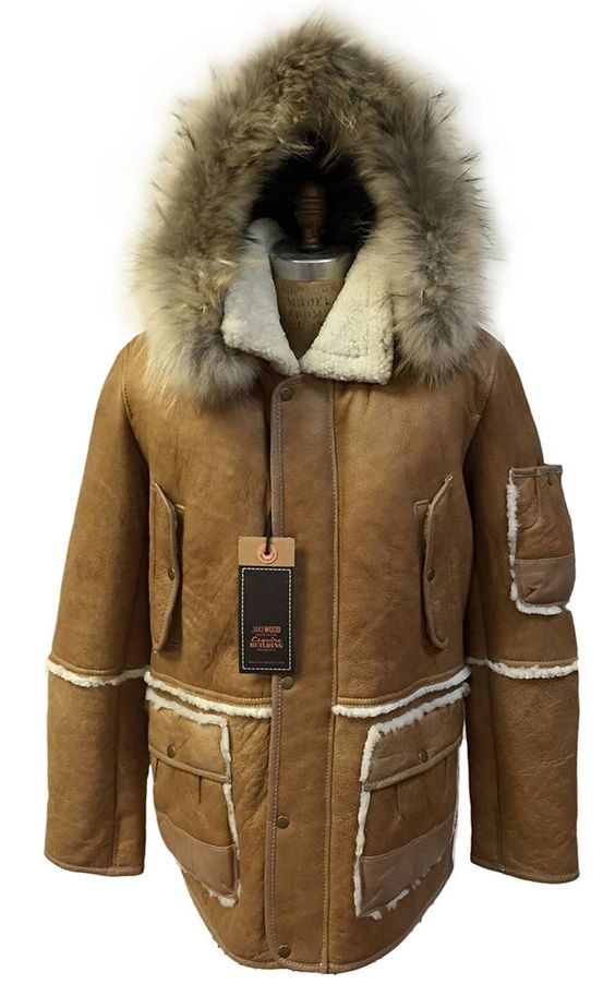 100% GENUINE SHEARLING. 100% genuine sheepskin shearling. Fur: 100% genuine finland raccoon. This coat is made out of the highest quality shearling. JACKET/ COAT WITH REMOVABLE HOOD. Sleeve length from center back neck: approx. | eBay!