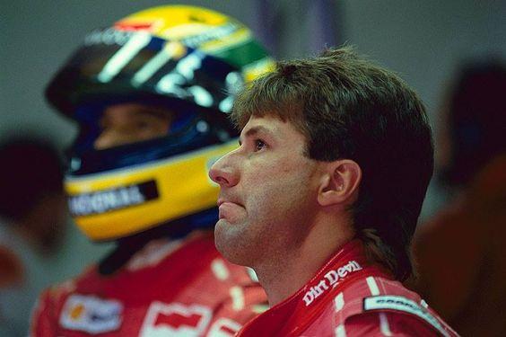 Senna e Andretti