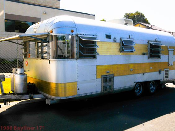 Travel trailers Vintage travel trailers and Trailers on