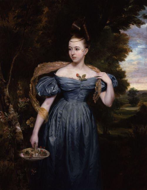 Clara Novello by Edward Petre Novello, 1833, National Portrait Gallery, London