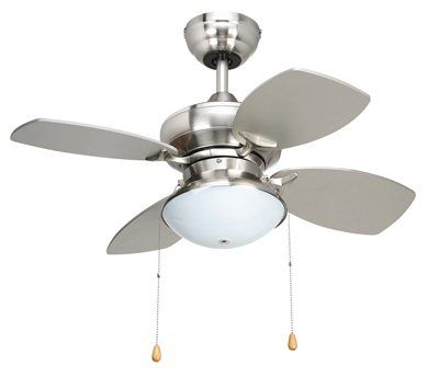 "Yosemite Home Décor HURRICANE 28"" Indoor Ceiling Fan with Light Kit  $139.00-$161.00  + Free Shipping  (small room)"