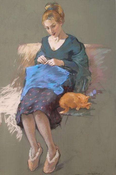 by Katya Gridneva 1965   Ukrainian: