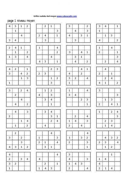 grilles-sudoku-4x4-niveau-moyen-1