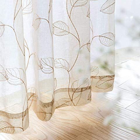 sheer curtains window treatments bedroom