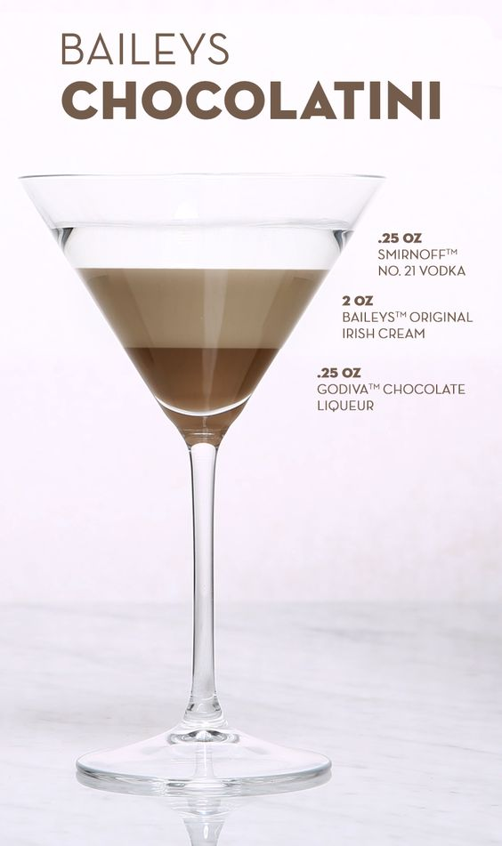 Drink Recipes Using  Double Chocolate Vodka