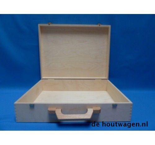 houten koffer nr. 4 - 43x33x10
