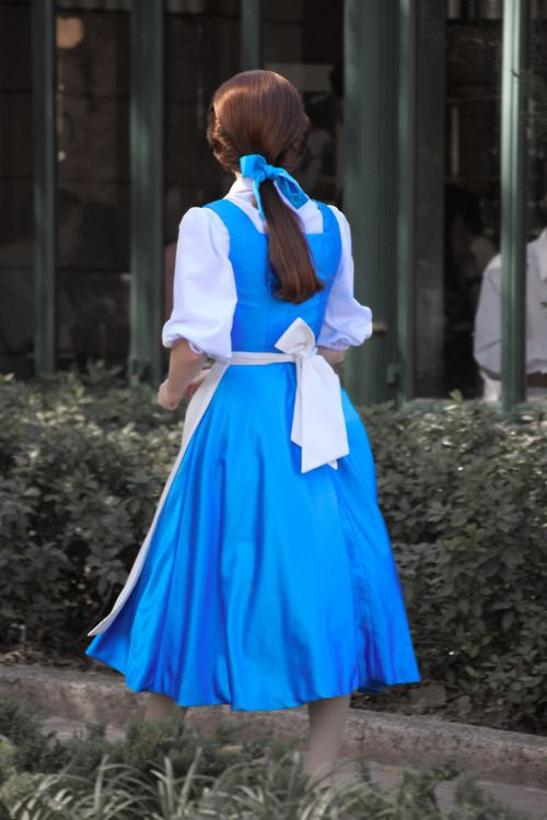 Details about Adult Princess Belle Costume Beauty and The Beast ...