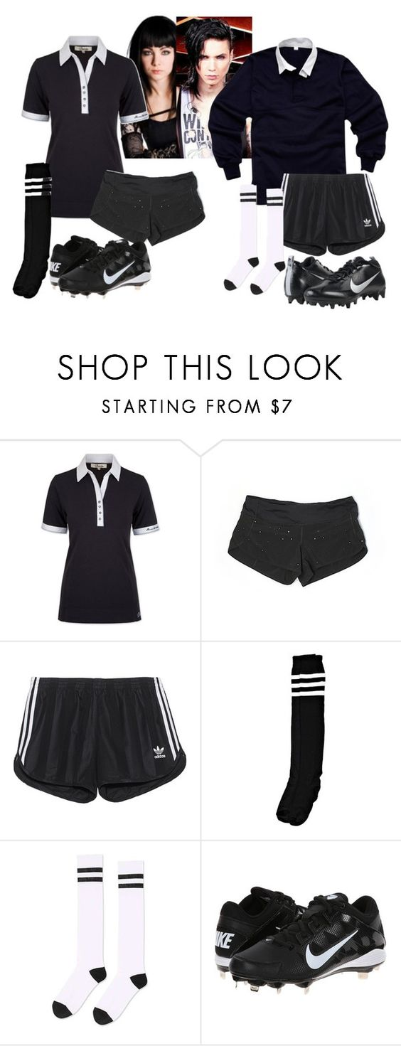 """Amelia and Evan Play Rugby"" by bijou-de-la-mer ❤ liked on Polyvore featuring ...Lost, DUBARRY, lululemon, adidas Originals, Boohoo, Topshop and NIKE"