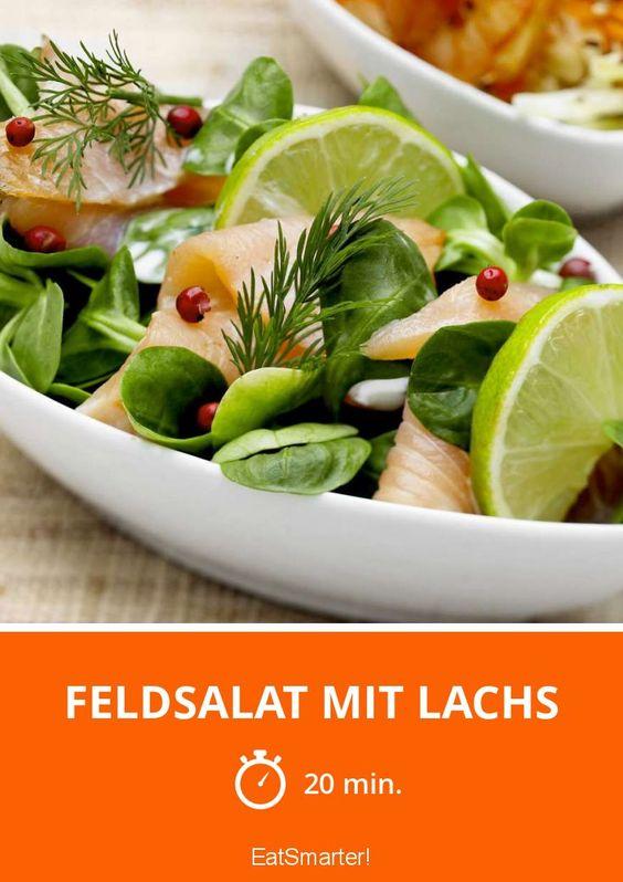 Feldsalat mit Lachs - smarter - Zeit: 20 Min.   eatsmarter.de