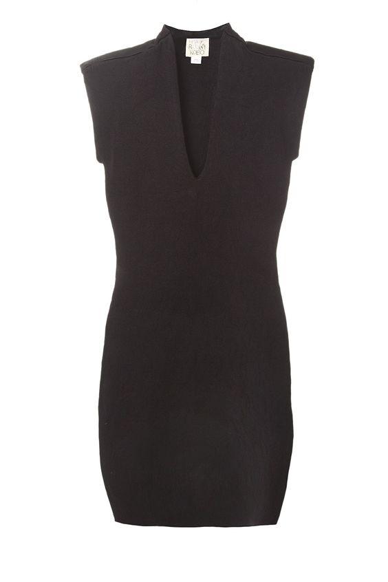 Leanna Bodycon Black Dress - Torn by Ronny Kobo