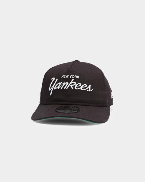 New Era New York Yankees Script Old Golfer Snapback Navy New Era New York Yankees Yankees