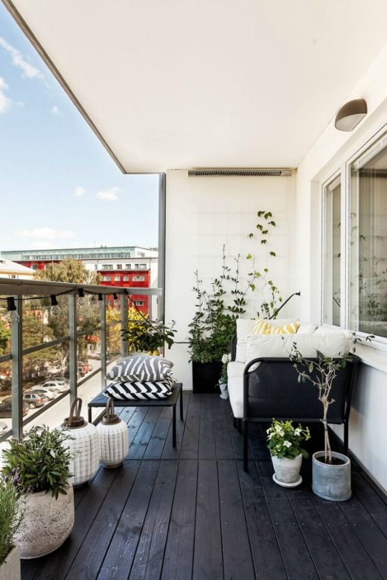 60 Idees Pour Amenager Son Balcon Amenager Balcon Decoration
