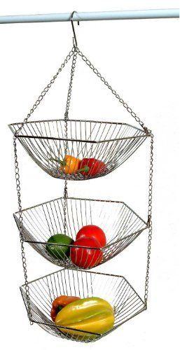 Hanging Fruit Baskets Fruit Or Vegetable And Fruits