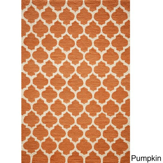 Hand-hooked Casablanca Area Rug (5' x 7') - Overstock™ Shopping - Great Deals on Momeni 5x8 - 6x9 Rugs