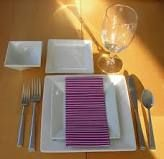 table setting for lent