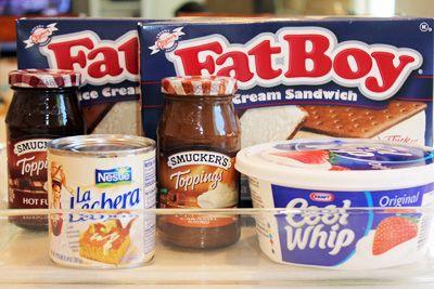 FatBoy Hot Fudge Sundae Dessert . . . A Summer Heat Buster!