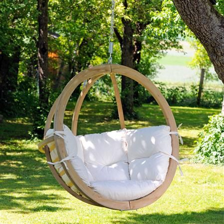 AMAZONAS Globo Chair. Looks like a great spot to spend a few hours reading!