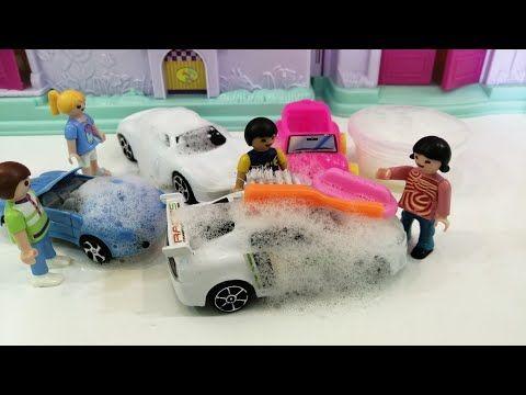 شفا تغسل سيارات Shfa Playing Car Wash Youtube Toy Car Toys Car