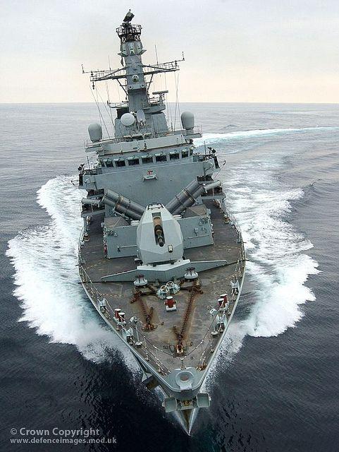 HMS Montrose, a Type 23 Frigate: