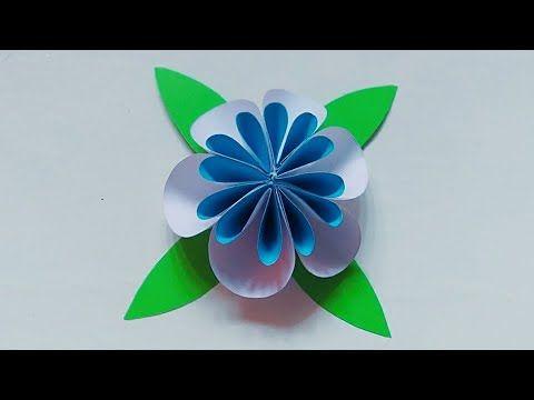 Cara Buat Bunga Dari Kertas Origami Youtube Origami Kertas Origami Bunga Dari Origami