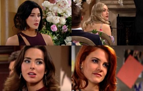 The Bold And The Beautiful Spoilers Liam S Wedding Date Shocker Brings Sally Steffy And Hope Horrified