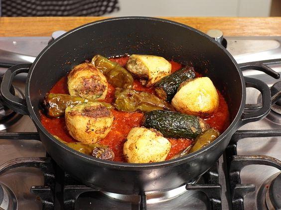 L gumes farcis recette mehchi de la cuisine tunisienne for Cuisine tunisienne