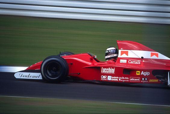 JJ Lehto, Hockenheim 1991, Dallara 191
