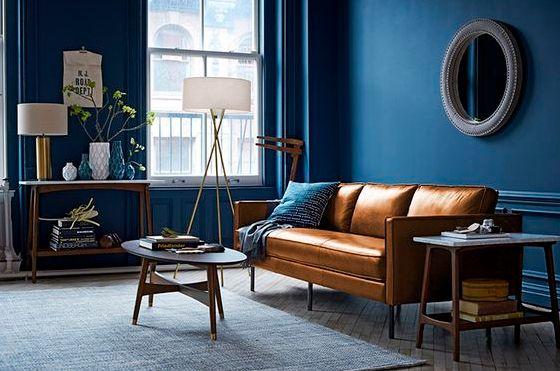 Mua sofa da tphcm để tạo được điểm nhấn cho phòng khách