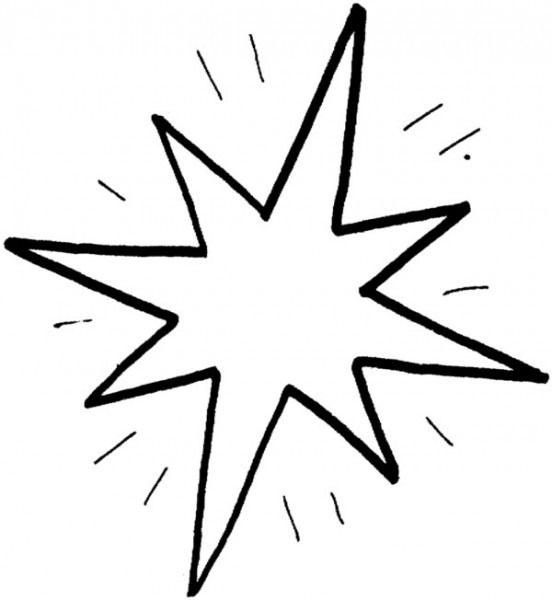 Estrellas De Belen Para Colorear Moldes De Estrellas Estrellas Para Imprimir Estrellas De Navidad