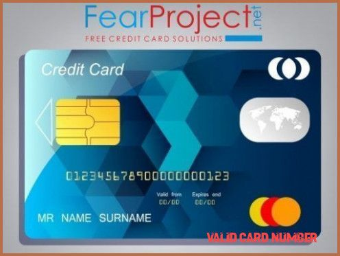 8 Mind Blowing Reasons Why Valid Card Number Is Using This Technique For Exposure Valid Card Number Https Free Credit Card Credit Card Hacks Credit Card App