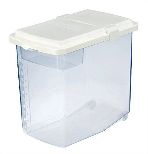 Japanbargain S 1826 Japanese Plastic Kome Bitsu Raw Rice Storage Container 10 Kgs Rice Container Storage Large Food Storage Containers Storage Containers