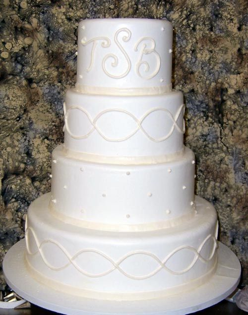 Infinity Symbol On Cake This Would Be Really Cute With Some Color
