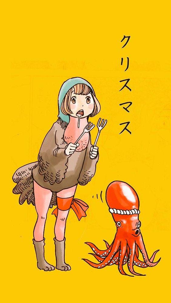 クリスマス たこと七面鳥)