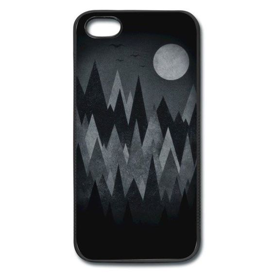 Gruselwald Illustration (Kunst/Dreieck) Handy Case iPhone Case | Spreadshirt http://ift.tt/2a8aThK - http://ift.tt/1Ogt3bY #art #design