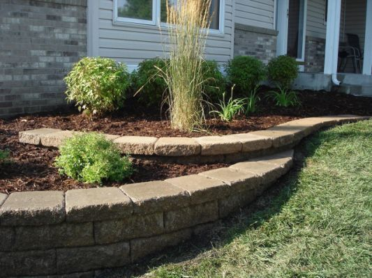 Small Retaining Wall Front Yard With Images Landscaping