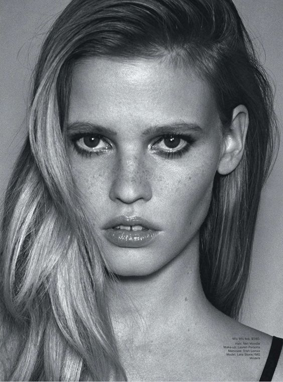 Lara Stone for Vogue Australia March 2013