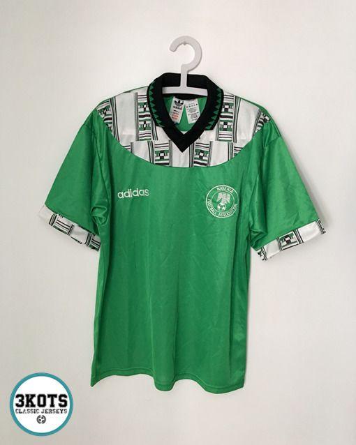 Nigeria 1994 Home Football Shirt M Soccer Jersey Vintage Adidas Super Eagles Adidas Jerseys Supereagles Nigeria Footballshirts Jersey Adidas Camisetas