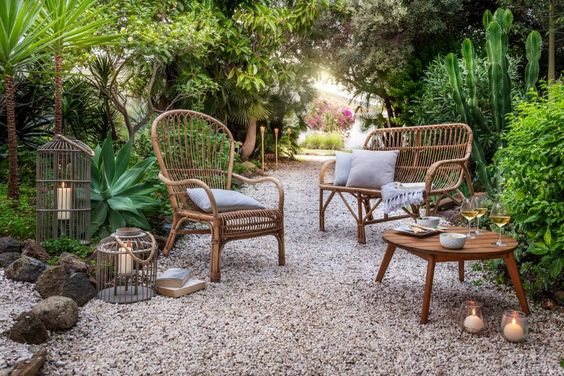 Comment aménager le jardin comme une pièce à vivre