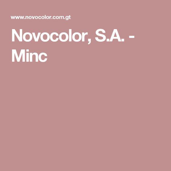 Novocolor, S.A. - Minc