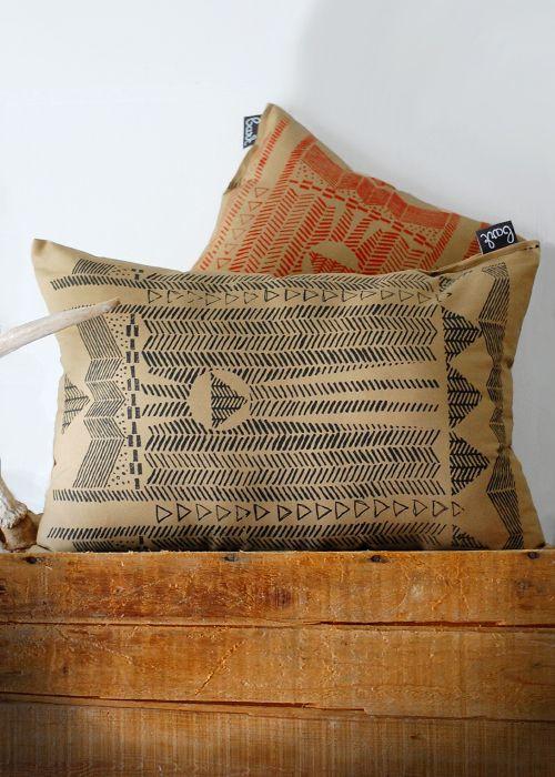 Bark Decor pillows