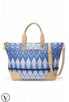 Getaway - Indigo Ikat Fits as a carry on! Stella and Dot: