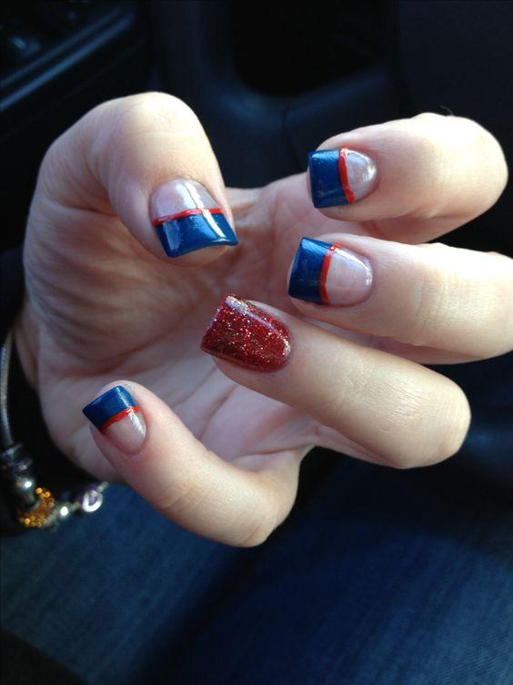 Marine corps, dress blues, nails, nail art, marine girlfriend, MilSO, my nails