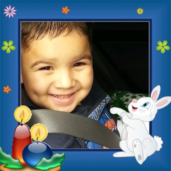 My little guy