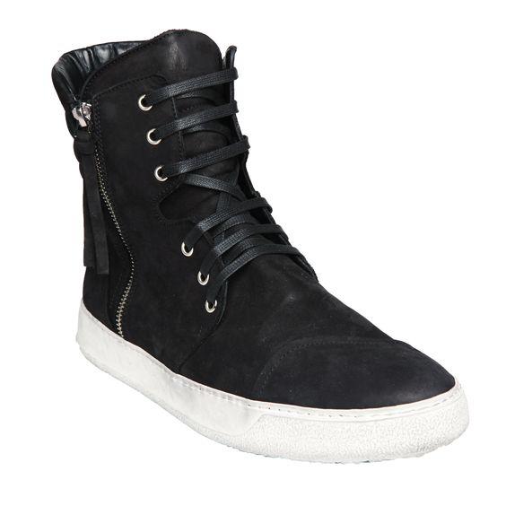 """Tirante"" Leather High-tops www.arisoho.com"