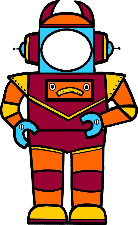 Classroom Treasures Robot Clipart  GCSE Graphics  Pinterest