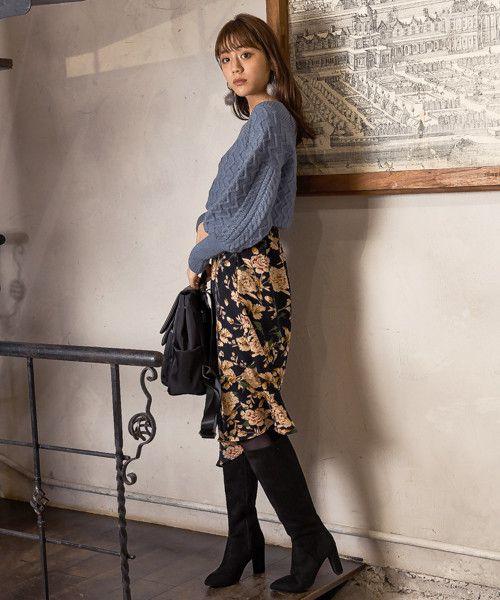 ロングブーツが復活の兆し 大人の女性だからこそ似合う最新ロングブーツコーデ集 Folk ファッションアイデア ロングブーツ コーデ ロングブーツ