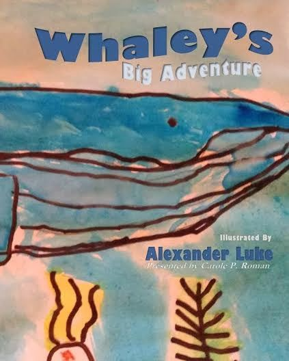 "Once Upon A Time...""Whaley's Big Adventure"" 5 year old pens and 5 Star book!"