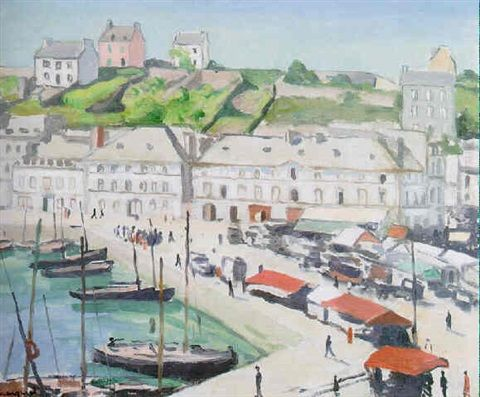 Le Port D Audierne By Albert Marquet Met Afbeeldingen