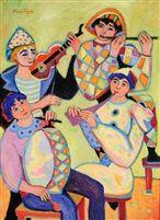 Composition aux 4 Musiciens von France Wagner