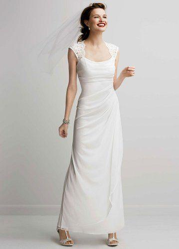 bridal dresses for over 50 - Ivory Wedding Dresses for Women Over ...